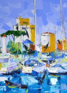 La Rochelle le Port 70cm-70