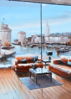 La Rochelle Panorama 70cm-70