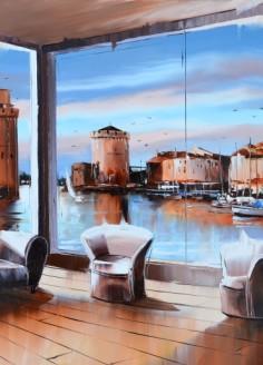 La Rochelle flamboyante 50cm-50